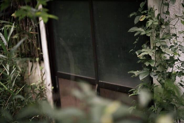 空き家ドア