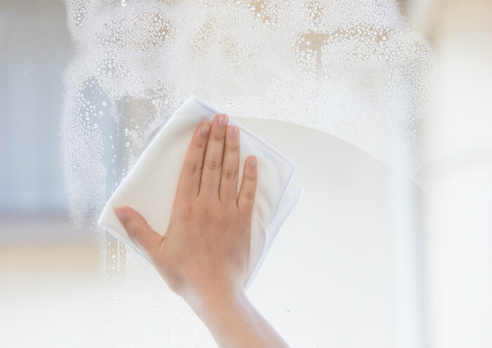 カンタンにそしてキレイに!窓・網戸のお手入れ方法